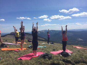 joga na hrebeni