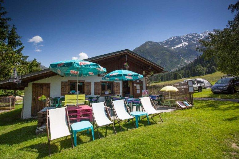 Camp je situovaný v krásnom prostredí