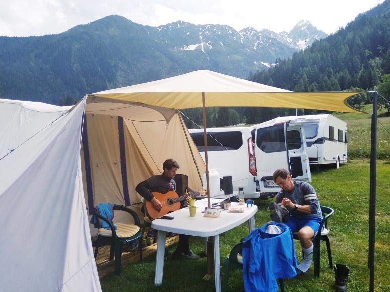 Naša minuloročná campingová pohodička :)