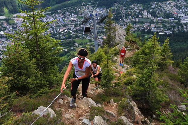Rýchly, zábavný, technický, intenzívny, s parádnym obecentstvom a občerstvením - Vertical KM du Mont Blanc