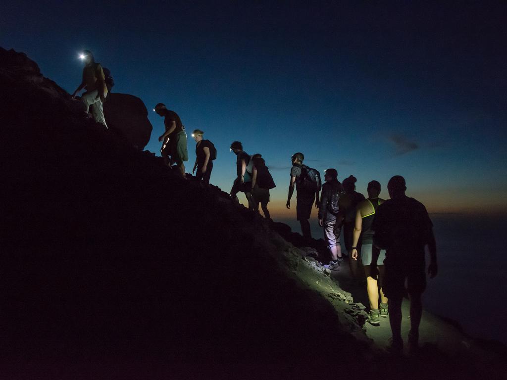 turistika v noci
