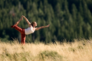 Yoga in the mountains 2