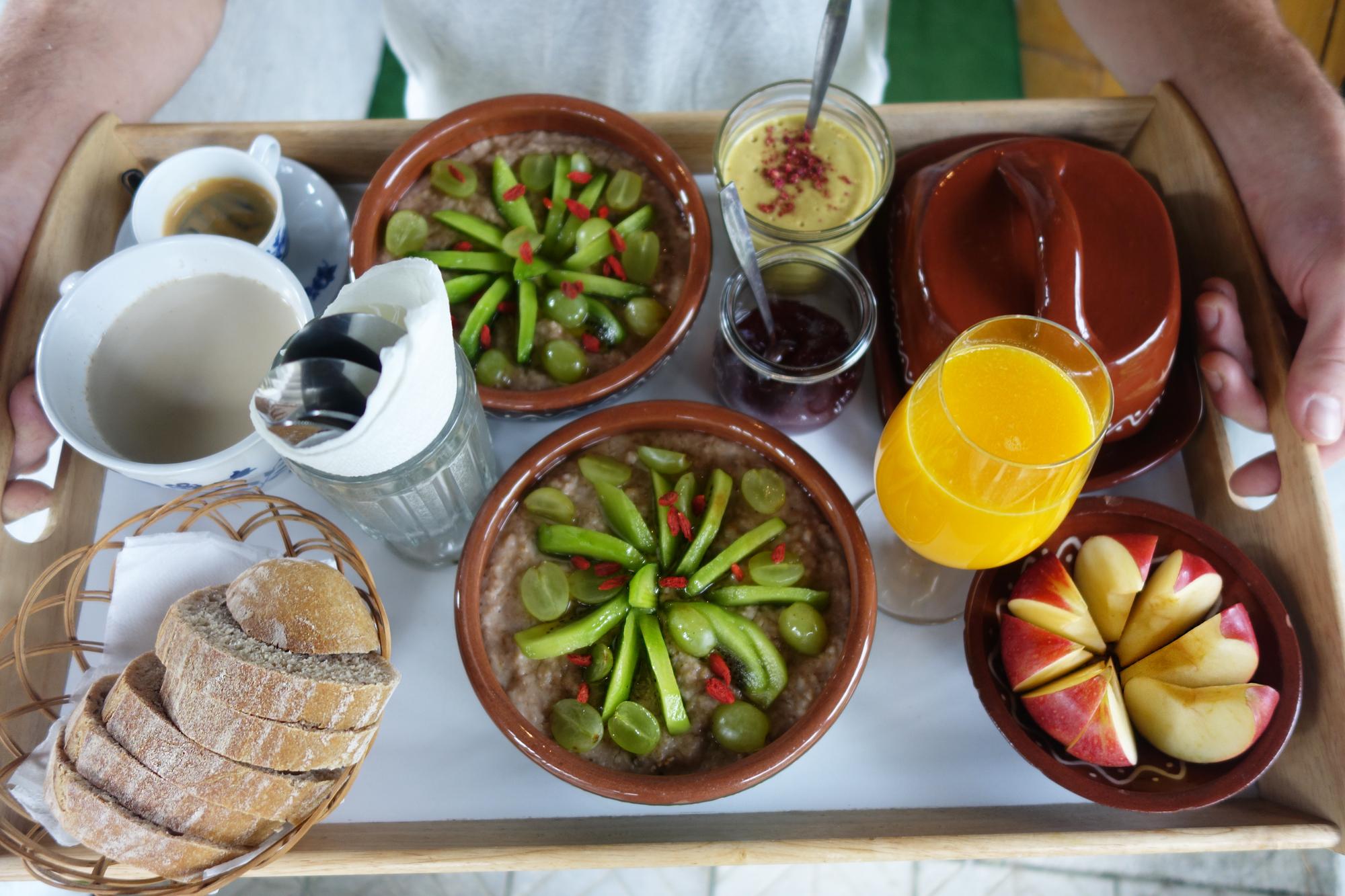 Koliba raňajky